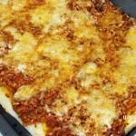 Bolognai pizza recept