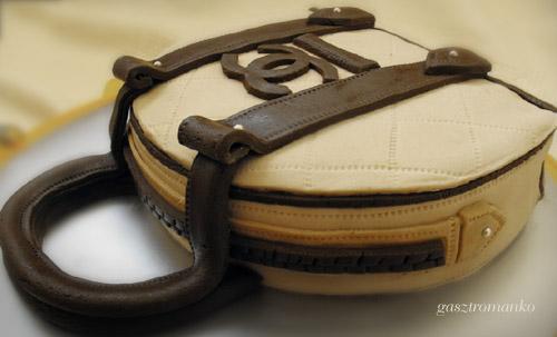 Chanel táska torta recept