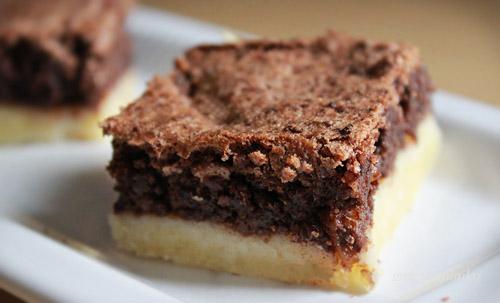 Csokis diós pite recept