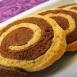 Csíkos keksz recept