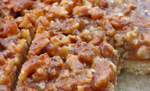 Diós grillázsos szelet recept