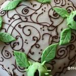 Tejszínes mascarponés gesztenyetorta recept