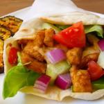 Görög pita avagy laposkenyér gyroshoz recept