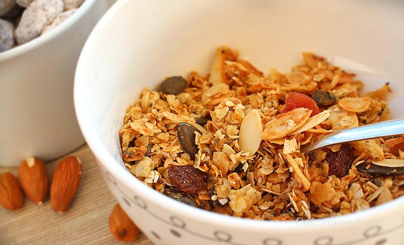 Házi granola recept