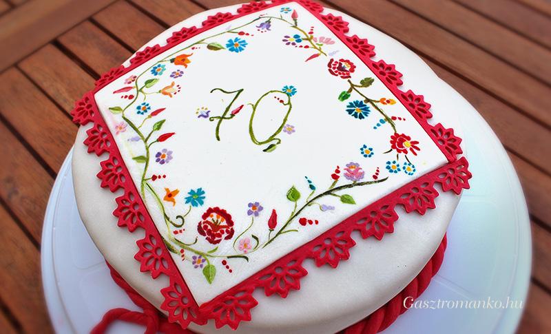 Kalocsai torta recept