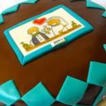 Lánybúcsús torta Ritának recept