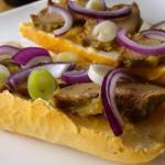 Libamájas szendvics recept