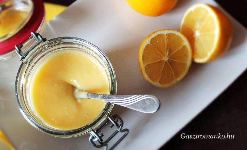 Meyer citromcurd (citromkrém) recept