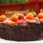Őszi szülinapi torta