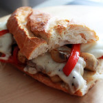 Philidelphia cheese steak szendvics recept