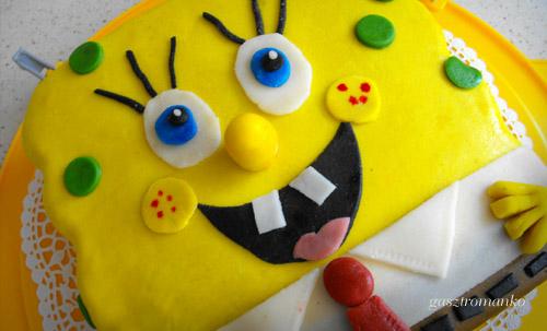 Spongyabob torta recept