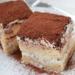 Sztracsatella szelet sütés nélkül