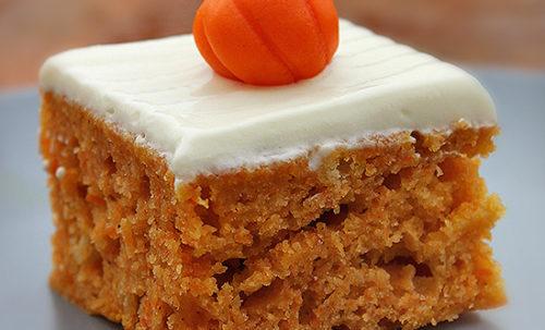 Tökös sütemény recept