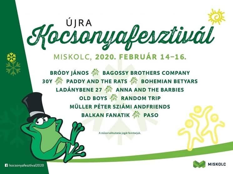 Kocsonyafesztivál Miskolc - 2020. február 14-16. Programok