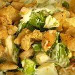 Almás saláta recept