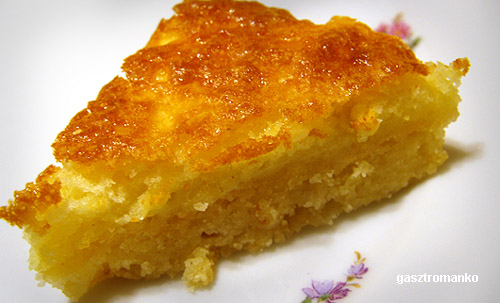 Amerikai citromos szelet recept