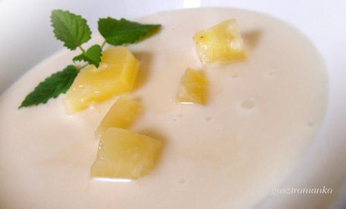 Ananászleves egyszerűen – főzés nélkül recept