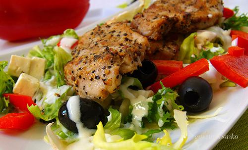 Antivega saláta recept