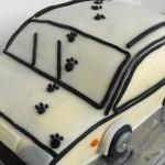 Autó-torta recept