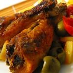 Ciprusi csirkecomb recept