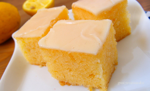 Könnyű citromos szelet recept