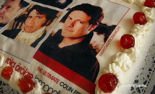 Colin Firth kókusztorta recept