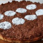 Csokis diós pitetorta recept