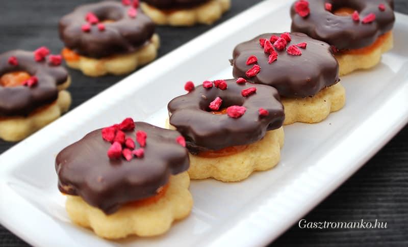 Csokis linzer recept