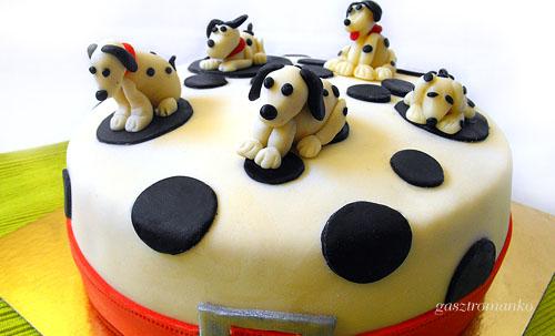 Dalmata kutya torta recept