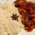Édes savanyú csirkemell rizzsel recept