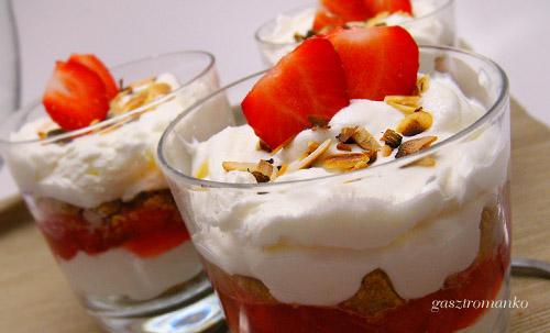 Epres pohárkrém recept
