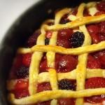Erdei gyümölcsös pitetorta recept