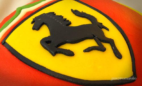 Ferrari torta recept