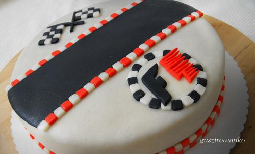 Forma 1 torta recept