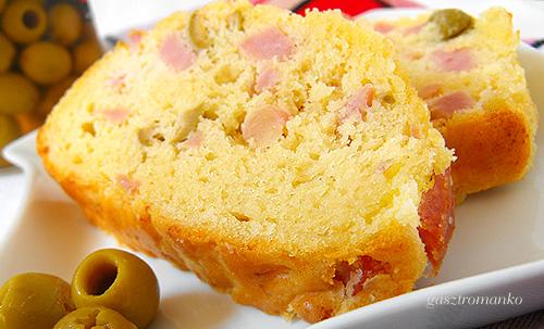Francia sonkás-olajbogyós kenyér recept