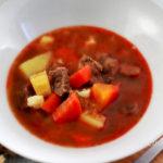 Gulyás leves recept