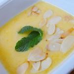 Őszibarack krémleves recept