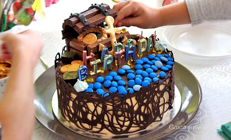 Kalóz torta recept