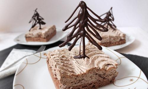Karácsonyi habos kocka recept