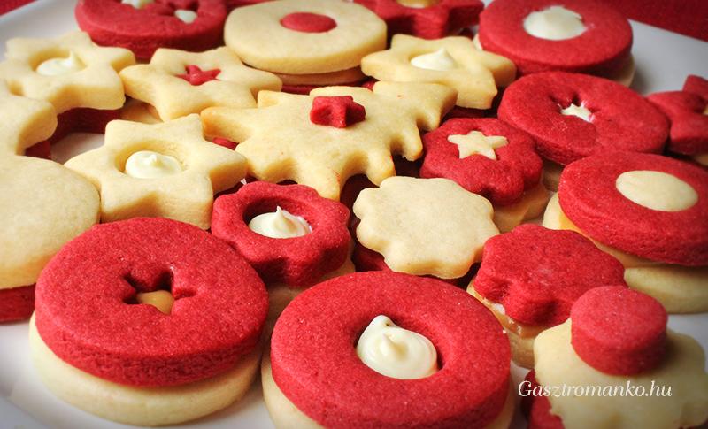 Karácsonyi tejes kekszek recept