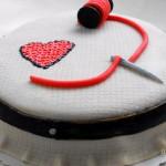 Keresztszemes hímzéses torta recept