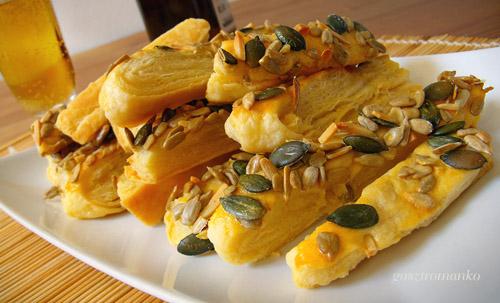 Magos rudak leveles tésztából recept