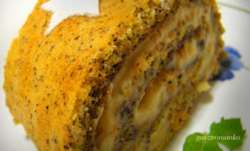 Mákos szilvás tekercs recept
