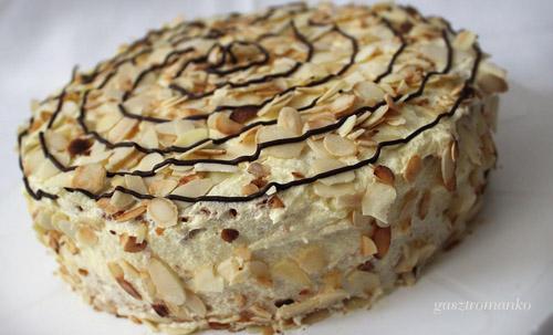 Mandulás torta recept