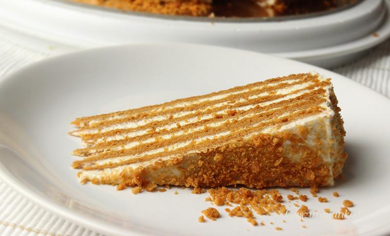 Medovik torta recept