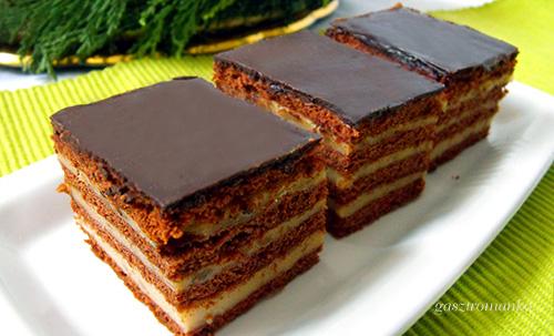 Mézes-kakaós sütemény recept