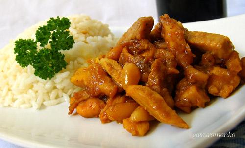 Mogyorós csirke recept