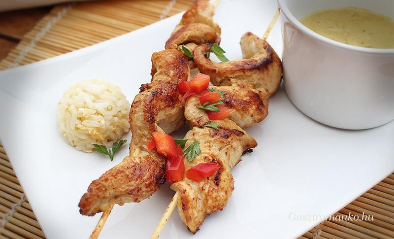 Mogyorós csirkenyárs recept