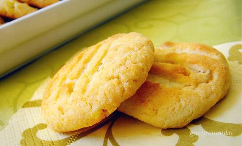 Mogyorós fehércsokis keksz recept