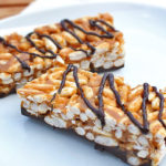Mogyoróvajas puffasztott rizsszelet recept